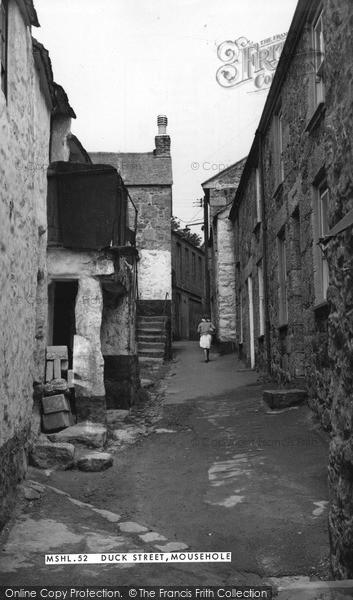 Mousehole, Duck Street c.1955