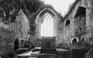 Muckross, Abbey, Chancel East 1897