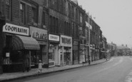 Nelson, Scotland Road, Parade Of Shops 1957