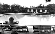 Nelson, the Swimming Pool c1955