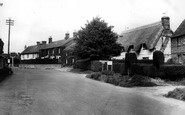 Netheravon, the Old Brewery School and Cottage c1955