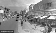 New Malden, High Street c1960