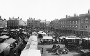 Newark, Market Place 1890
