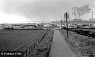 Newbiggin-By-The-Sea, Sandy Bay Caravan Site c1960
