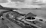 Newbiggin-By-The-Sea, the Bandstand c1960