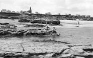Newbiggin-By-The-Sea, The Beach c.1955