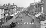 Newbury, Northbrook Street c1955