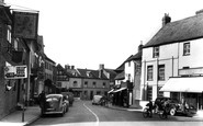 Newent, Broad Street c.1955