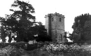 Newent, St John The Evangelist's Church c.1955