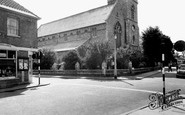 Newmarket, All Saint's Church c.1960