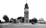 Photo of Newmarket, Clock Tower 1938