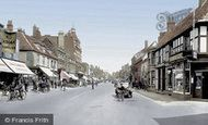 Photo of Newmarket, High Street 1929