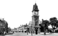 Photo of Newmarket, Jubilee Clock Tower 1929