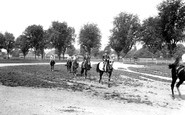Photo of Newmarket, Racehorses, Morning Exercise 1922