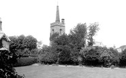 Photo of Newmarket, St Mary's Church 1922