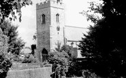 Newmarket, St Mary's Church c.1960