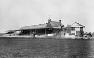 Photo of Newmarket, the Grandstand, Rowley Mile Racecourse 1922