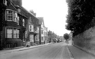 Photo of Newmarket, the Terrace and High Street 1922