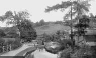 Newport, Allt-Yr-Yn, Above The Lock 1893
