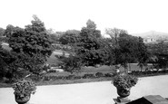 Newport, Belle Vue Park From The Terrace 1896