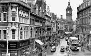Newport, Commercial Street c.1955