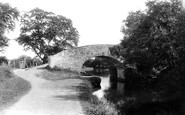 Newport, On The Canal 1896