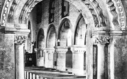 Newport, St Woolos's Cathedral, The Interior 1932