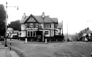 Newport, the Handpost Inn c1955