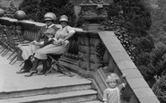 Newport, The Steps, Belle Vue Park 1925