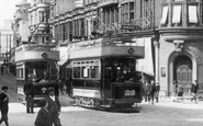Newport, Trams, High Street 1903