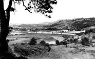 Newport, Vale Of Usk From St Julian's c.1955