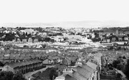 Newport, View From St Woolas Cathedral c.1955