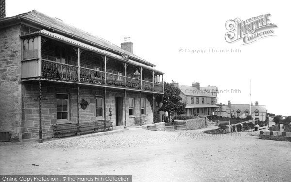 Newquay, Red Lion Hotel 1888