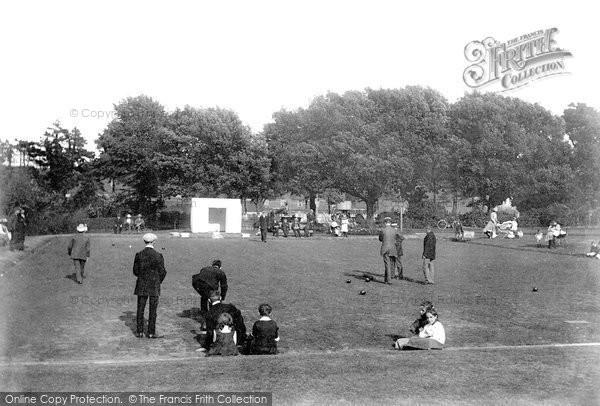 Newton Abbot, Courtenay Park Bowling Green 1907