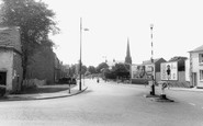 Newton Le Willows, Crow Lane East c1960