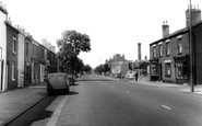Newton Le Willows, High Street c1965