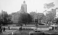 Northampton, All Saints Church c.1960