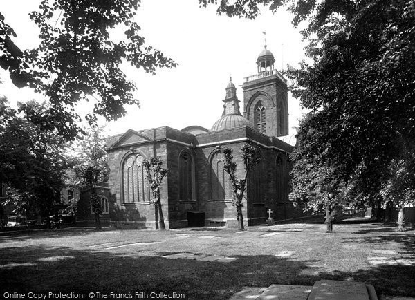 Northampton, All Saints Church From The North East 1922