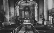 Northampton, All Saints Church Interior 1922
