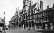 Northampton, Guildhall c.1955