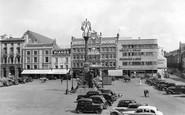 Northampton, Market Square c.1950