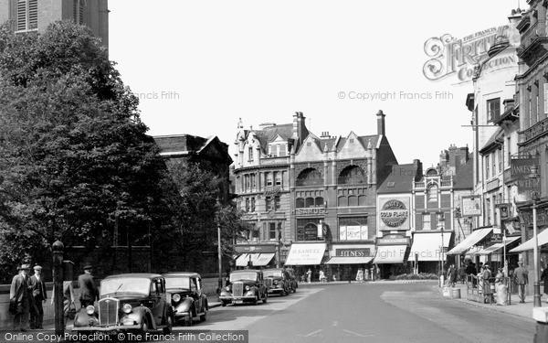 Northampton, Mercers Row c.1955