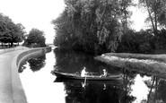 Northampton, River Nene 1922