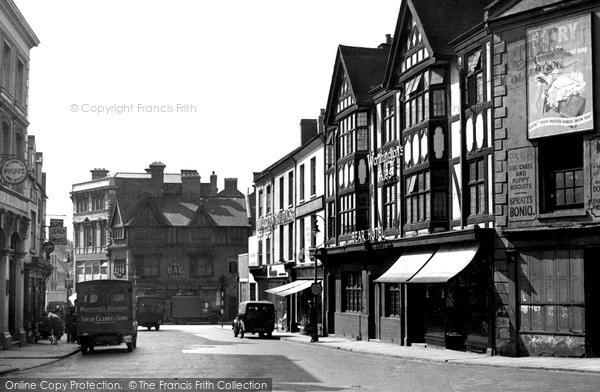 Northampton, Sheep Street Looking Towards The Drapery c.1955