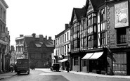 Northampton, Sheep Street Looking Towards The Drapery c.1955