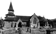 Norton, St Andrew's Church c.1955