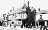 Oakengates, Clock and Post Office 1900