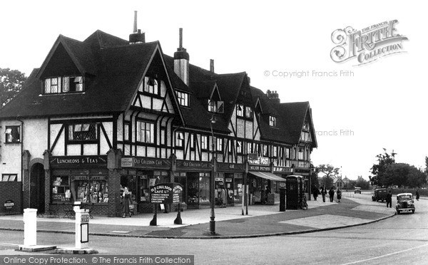 Old Coulsdon, The Parade c.1955