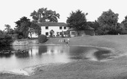 Old Coulsdon, the Pond c1955