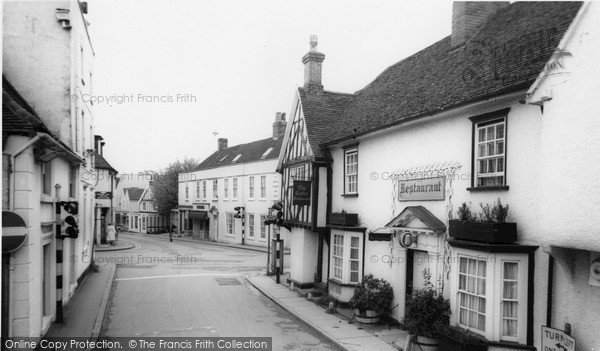 Old Harlow Gables Restaurant Francis Frith